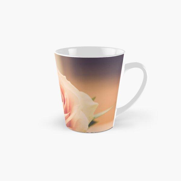 Peach Rose Tall Mug