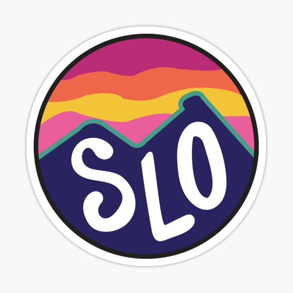 San Luis Obispo Sticker
