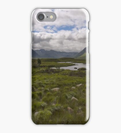 Rannoch Moor Glencoe Scotland iPhone Case/Skin