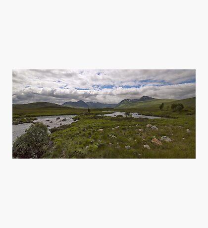Rannoch Moor Glencoe Scotland Photographic Print