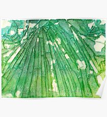 Broken Glass Watercolor Venus Mosaic Poster