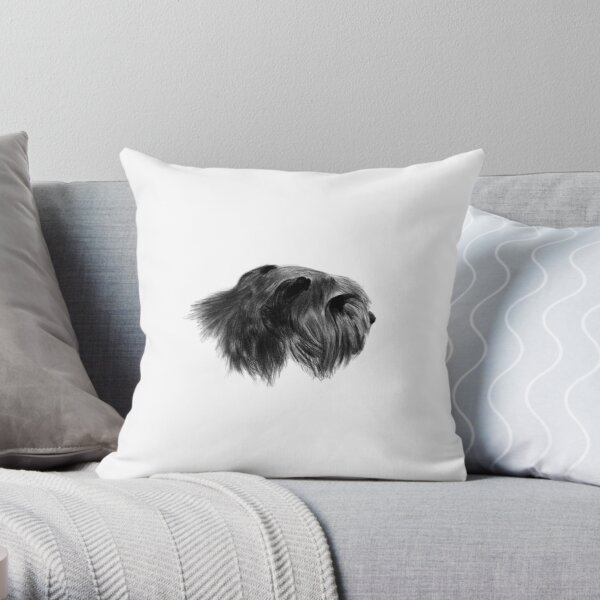Bouvier Des Flandres Throw Pillow By Noznedem Redbubble