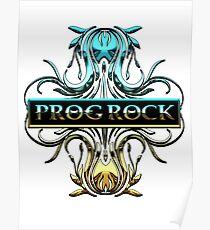 PROG ROCK - white background Poster