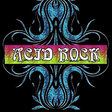 ACID ROCK - black background by butterflyscream