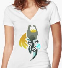 Hour of Twilight - Midna Women's Fitted V-Neck T-Shirt