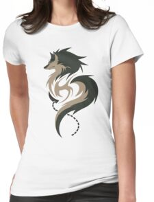 Hour of Twilight - Wolf Link Womens Fitted T-Shirt