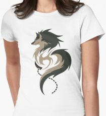 Hour of Twilight - Wolf Link Women's Fitted T-Shirt