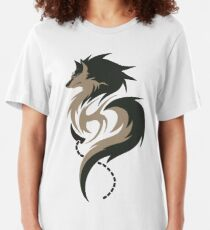 Hour of Twilight - Wolf Link Slim Fit T-Shirt