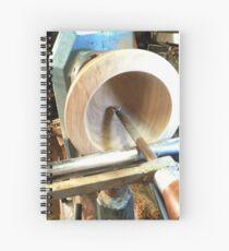 Deep hollowing tool Spiral Notebook
