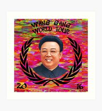 Wang Gang World Tour II Art Print