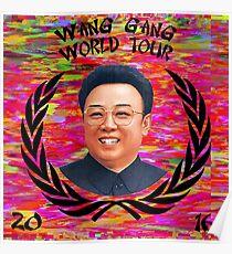 Wang Gang World Tour II Poster