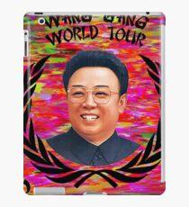 Wang Gang World Tour II iPad Case/Skin
