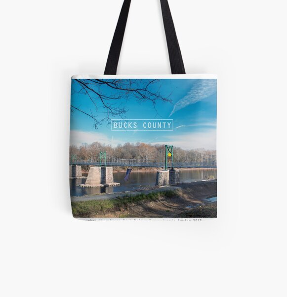 New Hope Pa. All Over Print Tote Bag