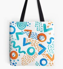 Watercolor Brushstrokes Colors One Tote Bag