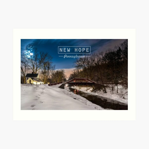 New Hope Pa. Art Print
