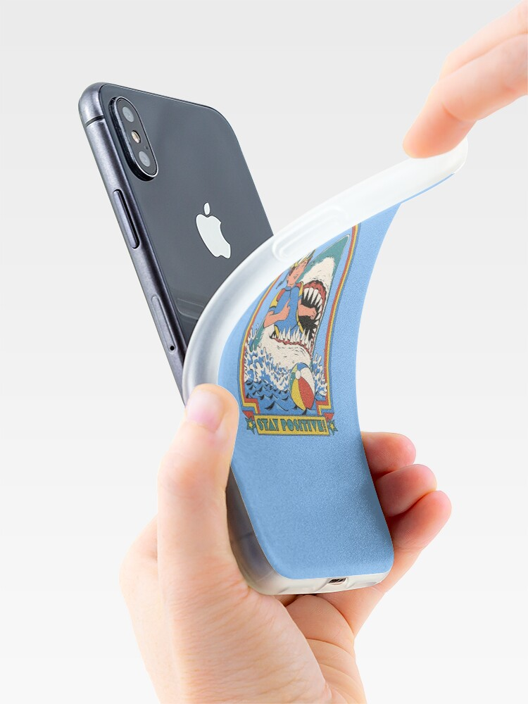 Alternate view of Stay Positive iPhone Case & Cover