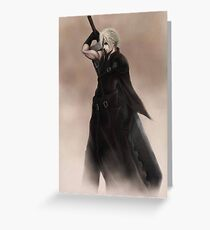 Cloud Strife Final Fantasy VII Greeting Card