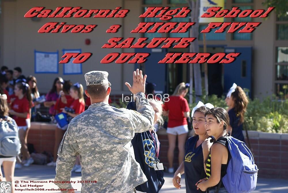 California High School Patriotic Day November 8, 2013; Whittier, CA USA by leih2008