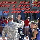 California High School Patriotic Day November 8, 2013; Whittier, CA USA by leih2008