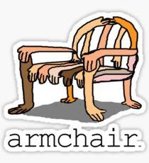 armchair Sticker