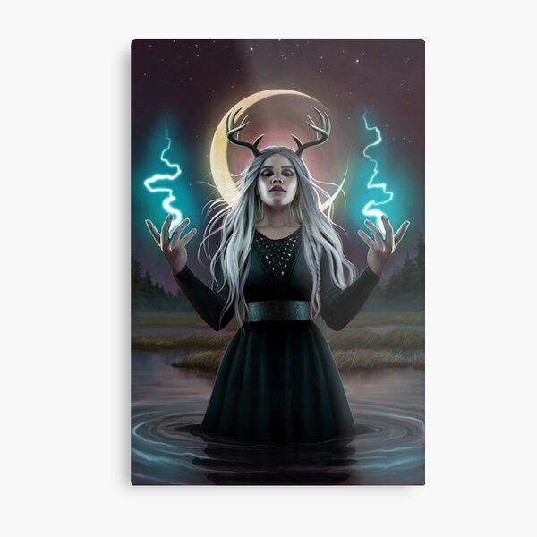 Lady Of The Marsh Metal Print