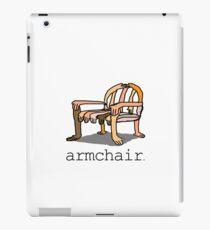 armchair iPad Case/Skin