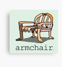 armchair Canvas Print