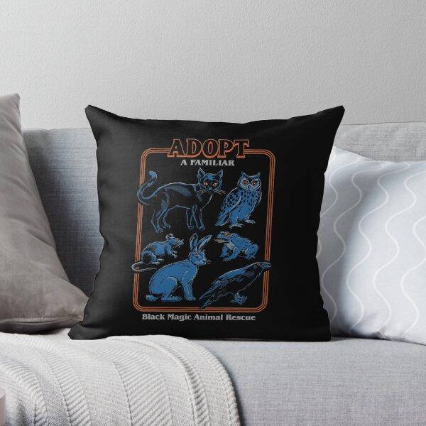 Adopt A Familiar Throw Pillow