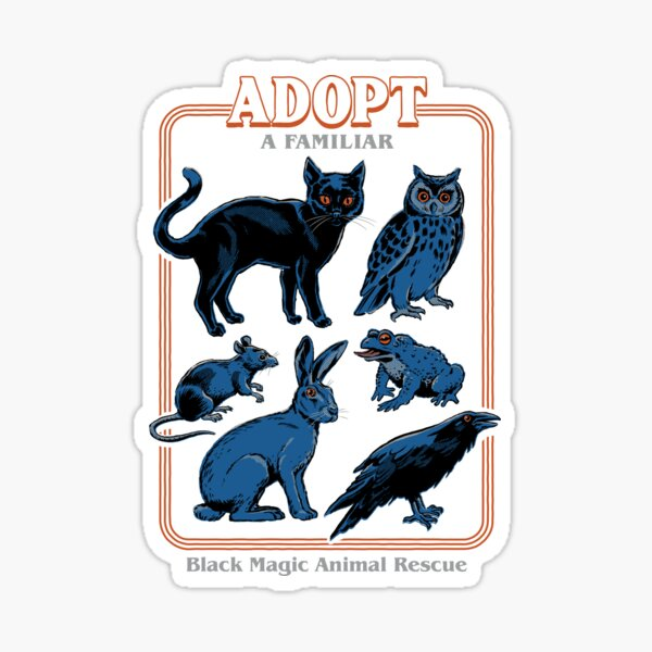 Adopt A Familiar Sticker