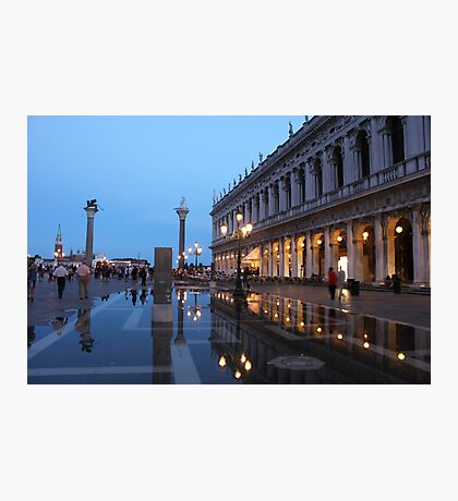 Venice at twilight Photographic Print