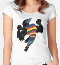 Crows Women's Fitted Scoop T-Shirt
