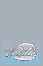 Funny Flat Fish by KazM