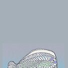 Funny Flat Fish by KazM