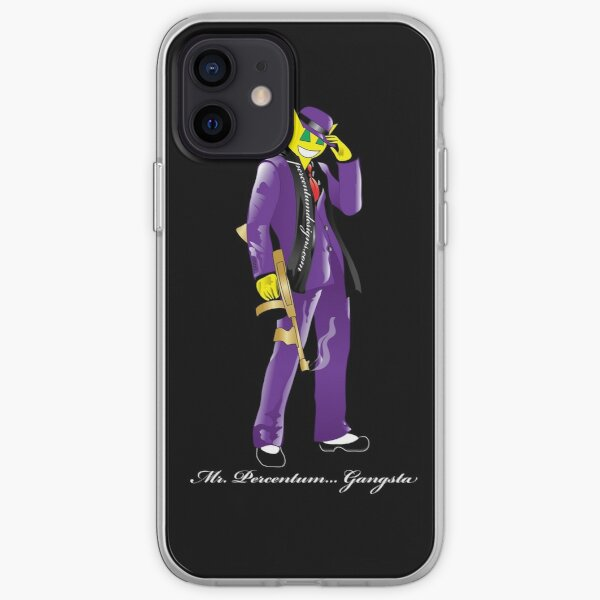 MR PERCENTUM - GANGSTA iPhone Soft Case