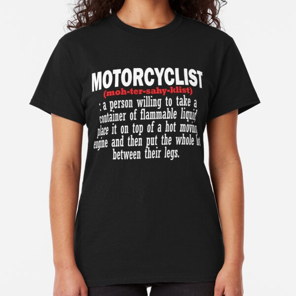 Motorcyclist Classic T-Shirt