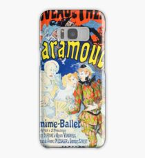 Vintage Jules Cheret 1896 Scaramouche Samsung Galaxy Case/Skin