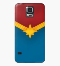 Golden Star with Red and Blue Case/Skin for Samsung Galaxy