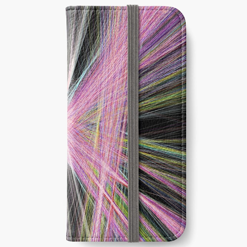 Linify Pink butterfly iPhone Wallet