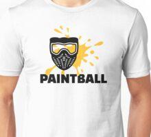 Paintball splash mask Unisex T-Shirt