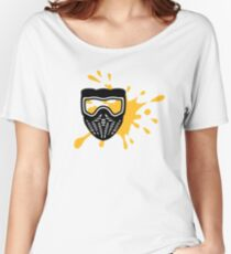 Paintball mask color Women's Relaxed Fit T-Shirt