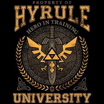 Hyrule University by LeylaTanlar