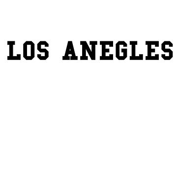 LOS ANGELES - souvenir tshirt by Sviz