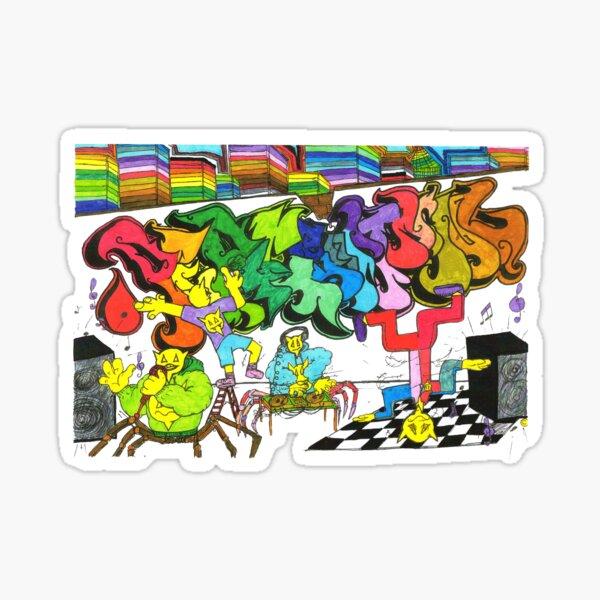 Percentum Hip-Hop Sticker