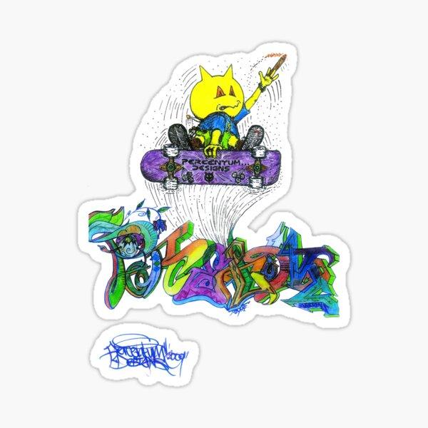 Percentum Ollie Sticker