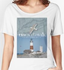 MONTAUK POINT Women's Relaxed Fit T-Shirt