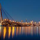 View across Blackwattle Bay, Sydney by Erik Schlogl