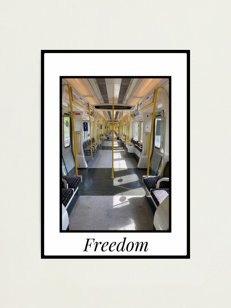 Alternate view of Freedom to travel Photographic Print