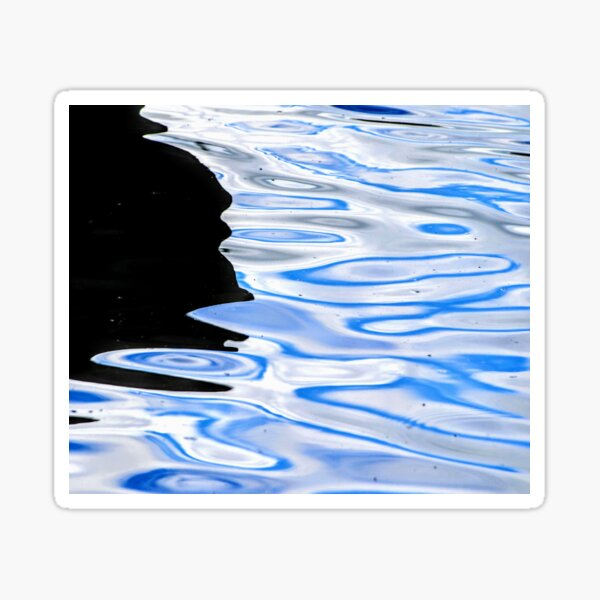 Abstract Reflection 00028 Sticker