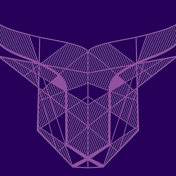 Bull Head - Purple by Tal96