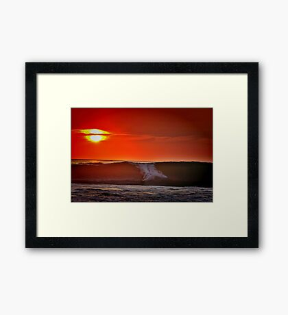 Surf Dreams Framed Print